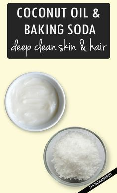 Baking soda is amazing for so many different things. It can be used as a beauty regimen, cleaning, medication, and even shampoo. In fact, baking soda shampoo is the best possible concoction to shampoo . Baking Soda For Dandruff, Baking Soda Scrub, Baking Soda For Hair, Baking Soda Shampoo, Baking Soda Uses, Beauty Hacks Shaving, Diy Beauty Hacks, Diy Hacks, Baking With Coconut Oil