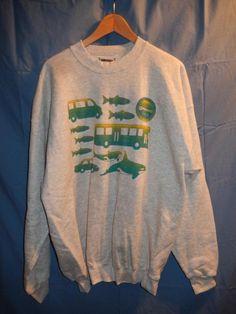 vtg 1993 Seattle Metro Sweatshirt 35 yr Anniversary Lee XL New! USA Made #Lee #SweatshirtCrew
