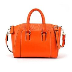 Simple Women s Street Level Handbag With Tote and Crocodile Veins Design de6c51db21fd5