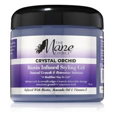 The Mane Choice Crystal Orchid Biotin Infused Styling Gel - 16 oz