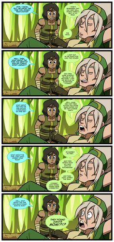 LoK: Story Time with Toph by Neodusk on deviantART