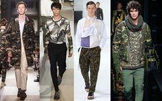 Erkekler kamuflaj deseni nasıl giymelidir?