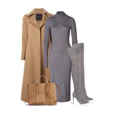 Ermanno Scervino coat, Agnona dress, Longvhamp bag and Gianvito Rossi suede boots xx #Padgram