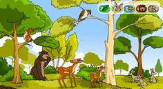 Une animation interactive pour étudier les chaînes alimentaires.