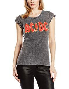 Desconocido Classic Logo Acid Wash - camiseta Mujer #camiseta #realidadaumentada #ideas #regalo