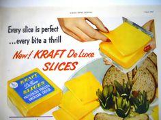 Vintage Kraft Cheese Magazine Advertisment by mamiezvintage, $8.95