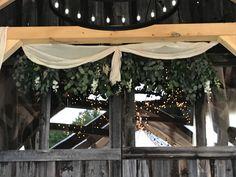 Beams, Burlap, Patio, Outdoor Decor, Home Decor, Decoration Home, Hessian Fabric, Terrace, Room Decor