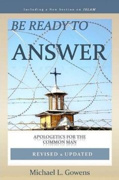 Be Ready to Answer by Michael L. Gowens http://www.amazon.com/dp/1929635087/ref=cm_sw_r_pi_dp_x4rqwb1G6Q25N