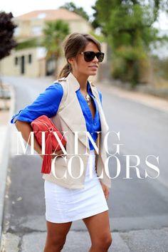 Seams For A Desire: Mixingcolors  #