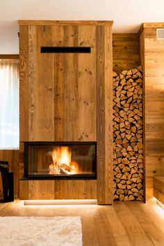 BRABBU is a design brand that reflects an intense way of living, bringing fierceness, strength and power into an urban lifestyle Chalet Design, House Design, Home Fireplace, Modern Fireplace, Fireplaces, Chalet Interior, Interior Design Living Room, Contemporary Home Furniture, Tiny House Cabin