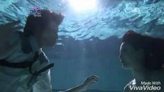 Chae won unnie jadi putri duyung 😊 #moonchaewon #leeminho