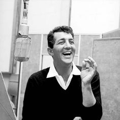 Dean Martin - though it was tough to find an image without a cigarette.  Chain smoking, yuck!
