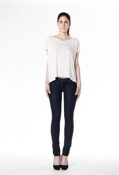 Yoga Jeans, mid-rise, skinny, Indigo rinse