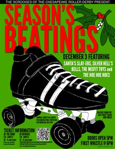 Season's Beating with Chesapeake Roller Derby, 12/3/11