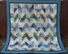 Quiltvilles Quips & Snips!!: Scrappy Mountain Majesties!  Another cook scrap quilt with a free tutorial from Bonnie Hunter