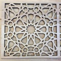 "10 Likes, 2 Comments - @jocomakerspace on Instagram: ""Moorish pattern design for a custom light box. #jocomakes #moorish #diy"""