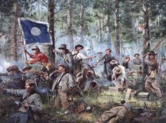 Battle of Chickamauga 2nd Tennessee Infantry
