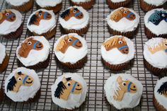 Horse Head Cupcakes for Vacation Bible School