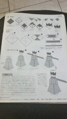 Ísis origamis: Pequeno príncipe em origami diagrama parte 2