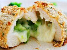 broccoli cheese stuffed chicken breast