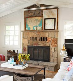 Don't be afraid to layer items; it adds depth, character, and texture to mantel decor. Letting frames overlap, and having big pieces peek out from behind smaller ones, gives the impression that a display has been built over time rather than all at once.