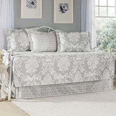 Found it at Joss & Main - 5-Piece Vera Daybed Cotton Quilt Set by Laura Ashley