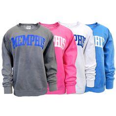 Image for Women's Oversized Memphis Tigers Sweatshirt