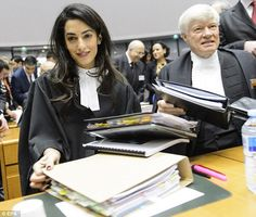 Appeal: Mrs Clooney will advise Armenia as they challenge the European Court of Human Righ...