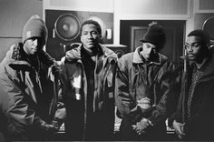 Premiere, Q-Tip, Nas, Large Professor - the iLLmatic producers