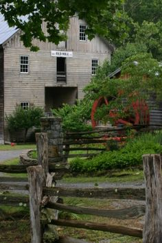 Cook's Old Mill, Greenville, WV-(privately owned)--