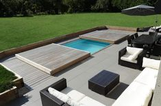 You think your plot is too small for a swimming pool? Be completely over … - Piscina Shipping Container Swimming Pool, Swiming Pool, Small Backyard Pools, Backyard Pool Designs, Small Pools, Swimming Pools Backyard, Swimming Pool Designs, Backyard Patio, Mini Pool