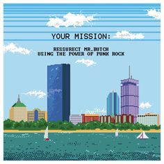 Boston DIY Punk Challenge: If this was a real game we'd play it now