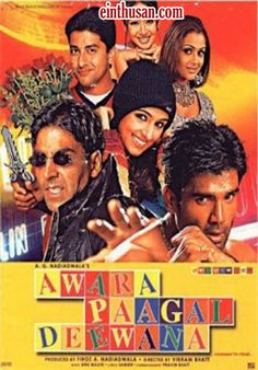 Awara Paagal Deewana Hindi Movie Online - Akshay Kumar, Aftab Shivdasani, Sunil Shetty and Paresh Rawal. Directed by Vikram Bhatt. Music by Anu Malik. 2002 ENGLISH SUBTITLE Awara Paagal Deewana Hindi Movie Online.