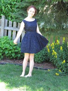 Refashion Co-op: Twirling in This is My New Favorite Past Time #DressRefashion #Dress2DressRefashion