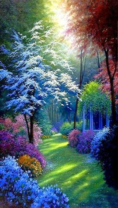 Heavenly colors and beauty. But Heaven will be even more colorful and beautiful. I can't wait to see it. Praise God.