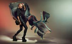 Skunk Anansie by Kasia Kret, via Behance