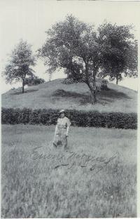 Adena Burial Mound 200 - 700 B.C. located in Enon Ohio