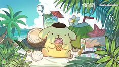Cute Screen Savers, Sanrio Characters, Fictional Characters, Pikachu, Hello Kitty, Kawaii, Drawings, Pink, Anime