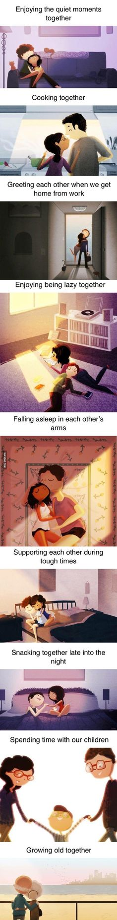 Love is... (By Nidhi Chanani) - 9GAG
