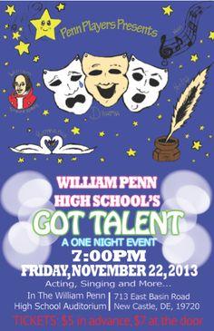 talent show program template word
