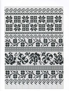 17 Best images about Fair Isle Cross Stitch Bookmarks, Cross Stitch Borders, Cross Stitch Flowers, Cross Stitching, Cross Stitch Patterns, Fair Isle Knitting Patterns, Knitting Charts, Knitting Stitches, Knitting Designs