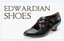 Oh dear, this website is going to be dangerous - Regency through the 1920's replica shoes. Ships to Canada...