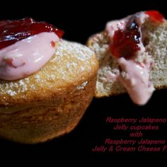 A neat little way to jazz up your everyday cupcakes.   The jelly I used was Uncle Gary's Gourmet Raspberry Jalapeno Jelly http://unclegaryspeppers.com/