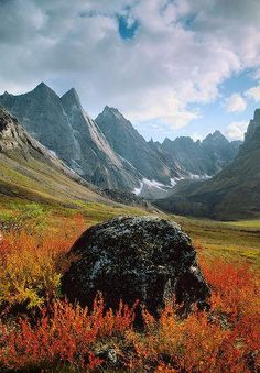 autumn, Arrigetch Peaks, Gates Of The Arctic National Park, Alaska | Patrick Endres, Alaska in Pictures