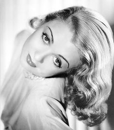 Constance Bennett-- According to TCM, she came to be known at the tail-end of the silent films and became popular and famous in 1930s and one of the top actresses of her time. She died young at the age of 60 of cerebral hemorrhage. I've been watching and catching up with her movies on TCM lately. I find myself enjoying the films where she was the lead actress.