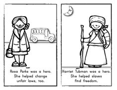 Rosa Parks {Emergent Reader} for Kindergarten and First