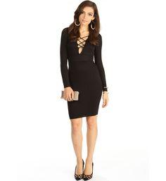 Black Into It Midi Dress
