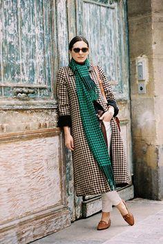 Paris Fashion Week AW 2014....Andreea