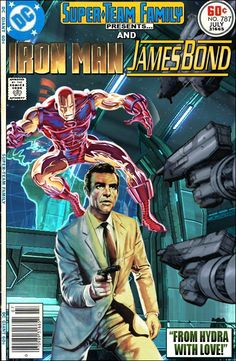 """Super-Team Family: The Lost Issues!: Iron Man and James Bond in """"From HYDRA With Love"""""""