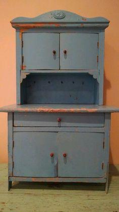Child S Toy Kitchen Cupboard